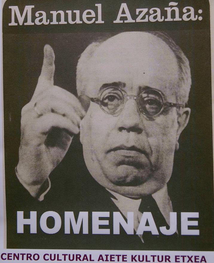 Manuel Azaña: HOMENAJE - aaa-homenaje
