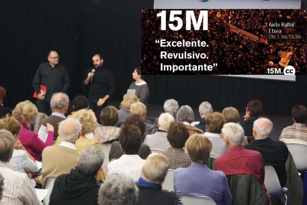 Presentación del documental de Miguel G Morales. Esta tarde le coge el relevo Amador Fernadez-Savater con un nuevo documental