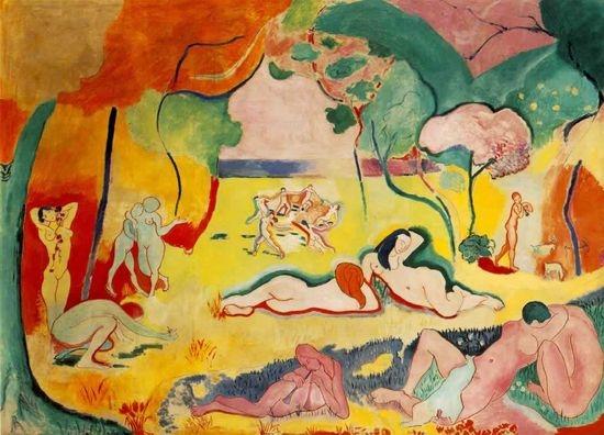 La joie de vivre (La alegría de vivir). Matisse, 1906