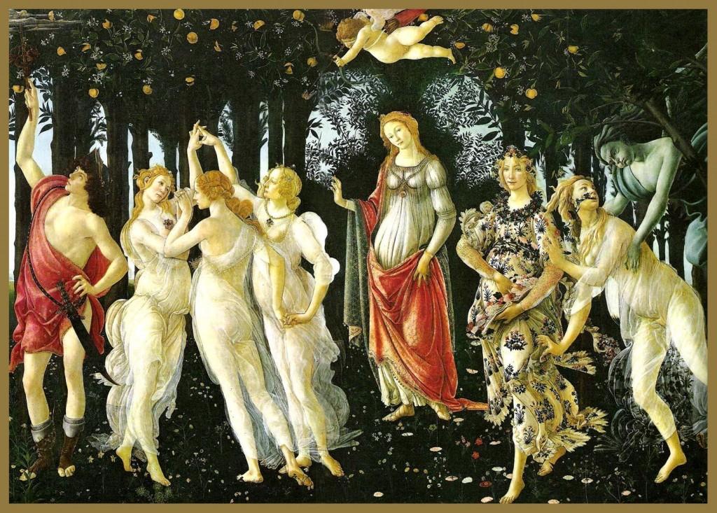 La Primavera, Sandro Botticelli, Florencia