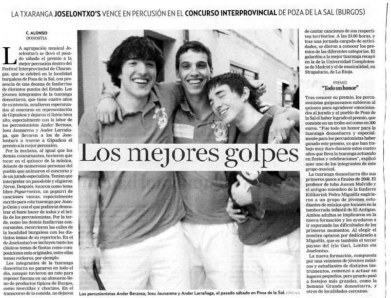 LOS MEJORES GOLPES
