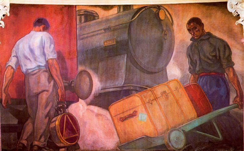 Aurelio-Arteta-El-ferrocarril