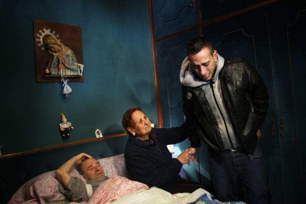 Vicente Torres, de 74 años y enfermo del corazón