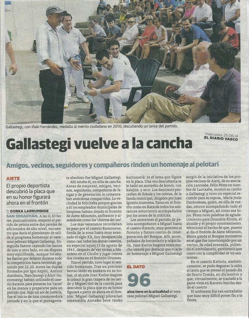 diario vasco 25 6 14