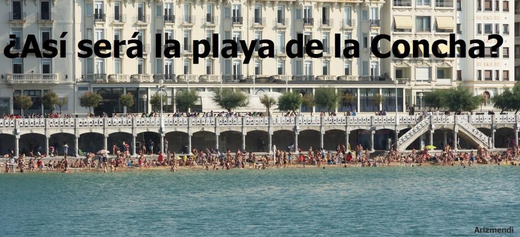Mareas vivas en Donostia. 10-09-2014. Foto Arizmendi