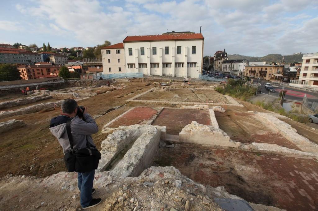 Visita arqueologica a San Bartolome/San Sebastian/22-10-2014/LUSA