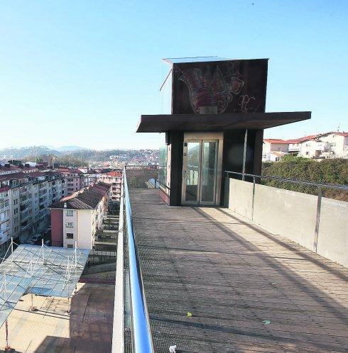Ascensor de la plaza Luis Martin Santos/San Sebastian/09-01-2015/LUSA
