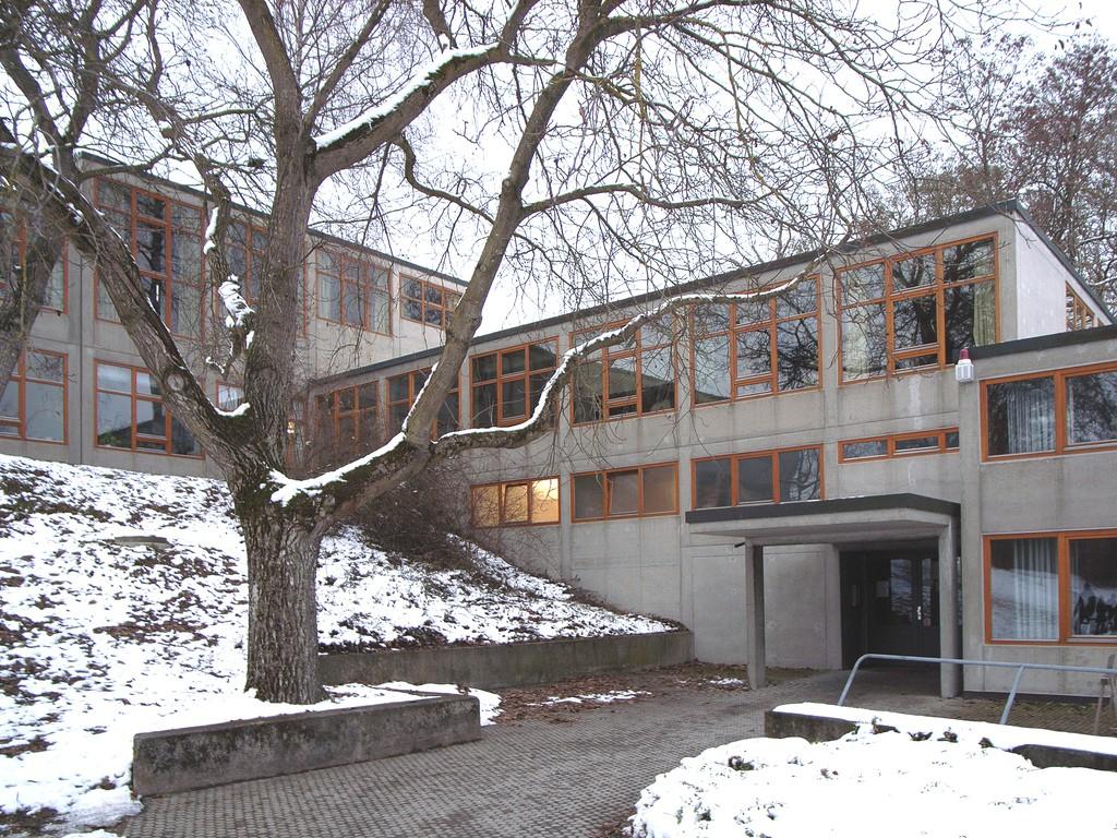 1 Edificio de la HfG de Ulm diseñado por Max Bill y terminado en 1955.
