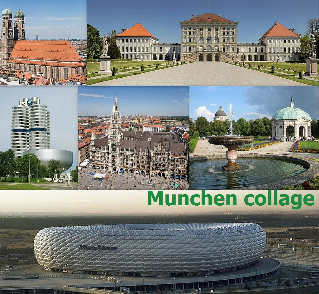 Munchen collage