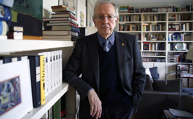 Juan Pablo Fusi Donostian jaiotako historialariak dokumentalen editorialean lagunduko du. ANGEL DIAZ / EFE