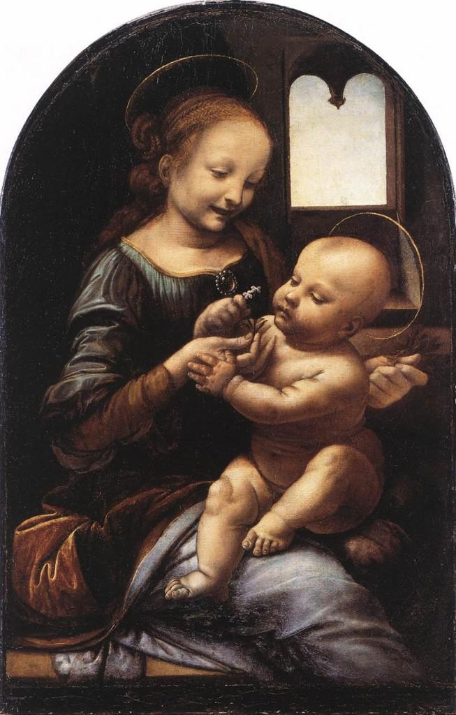 2 Leonardo_da_Vinci_Benois_Madonna