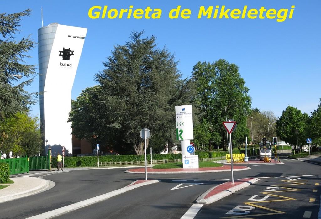 GLORIETA DE MIKELETEGI