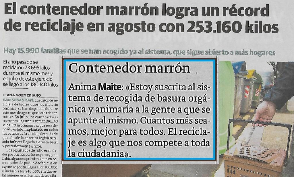 contendor marron