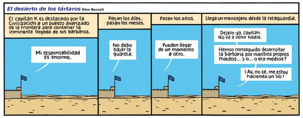 EL DESIERTO DE LOS BARBAROS