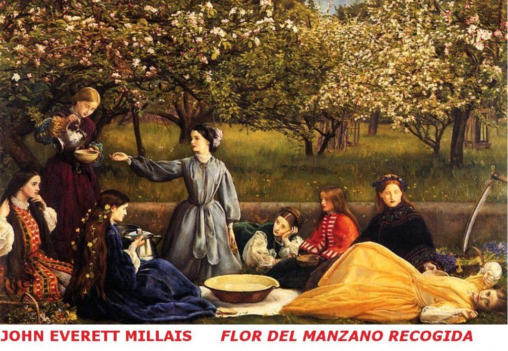 john-everett-millais FLOR DEL MANZANO RECOGIDA