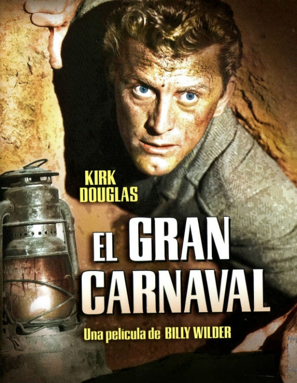 El gran carnaval Billy Wilder