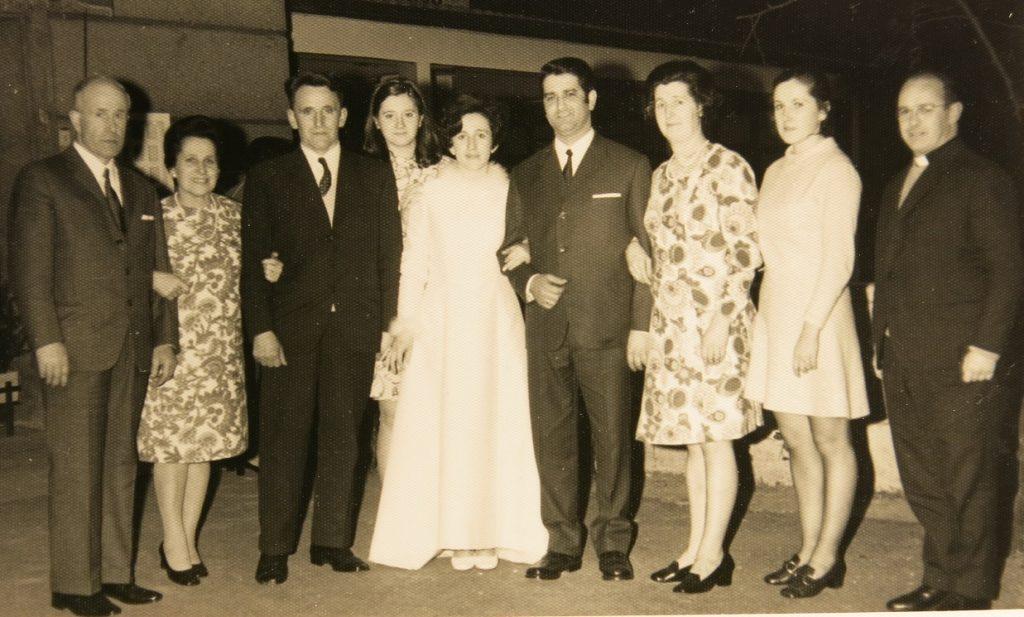 BODA DE ROSARITO 1970