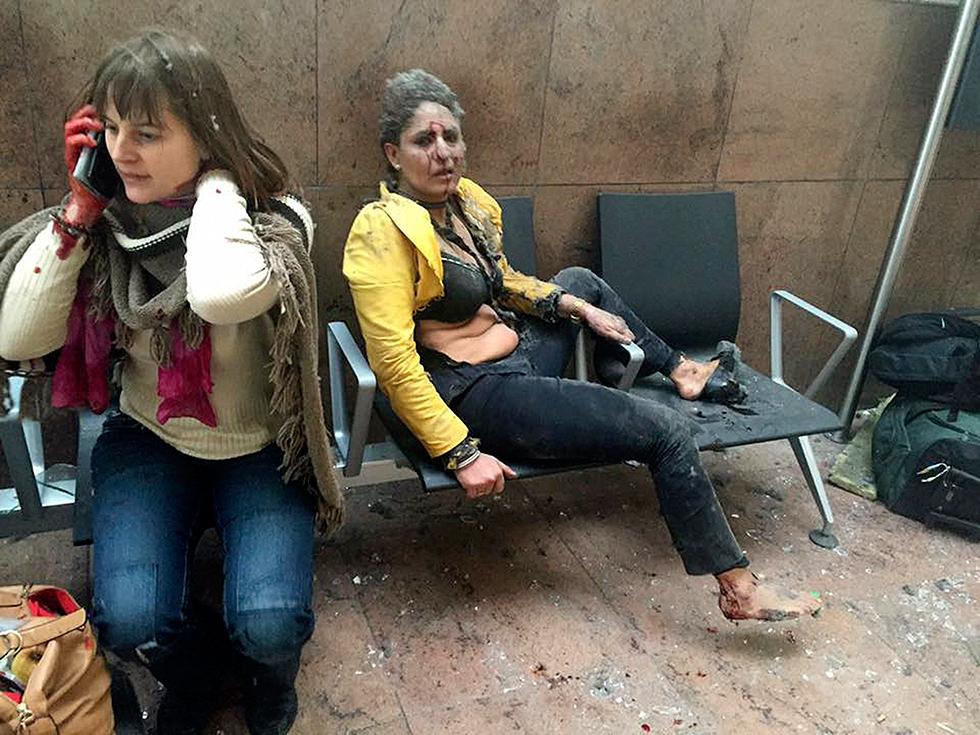 atentado reivindicado por el Estado Islámico (ISIS) dejó al menos 35 muertos y más de 230 heridos en Bruselas
