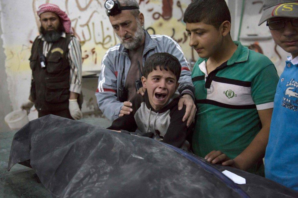 ciudad siria de Alepo, el