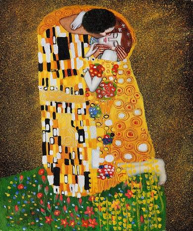 03_Klimt El beso