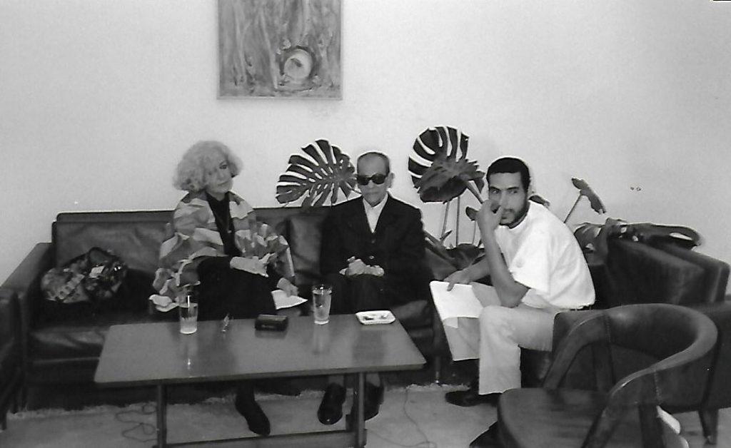 1 Naguib Mahafuz con LOLO RICO