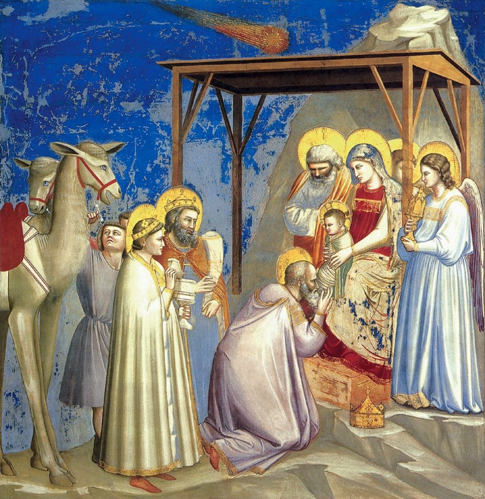 Adoración Magos_Giotto